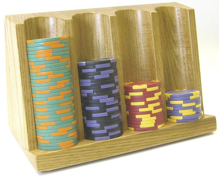 Casino Supply 4 Row Craps Chip Tray Wood Other Online