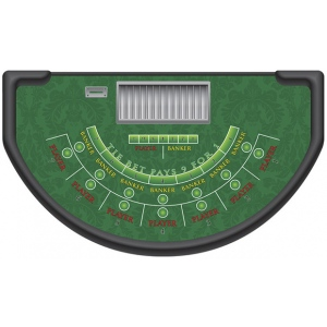 Casino Supply Mini Baccarat Layout: Stock - Available Immediately