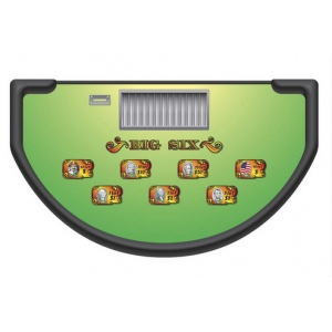 Casino Supply Money Wheel Layout: Stock - Available Immediately