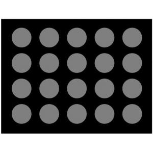 Casino Supply Black Velvet Poker Chip Display Boards: 20 Chips