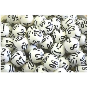 Casino Supply Raffle Balls Numbered 1-250