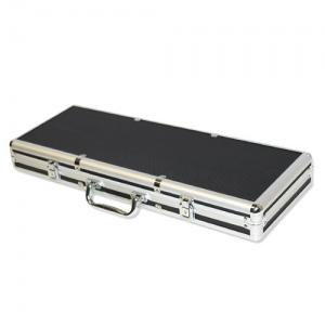 500 Ct Black Aluminum Case with Red Interior