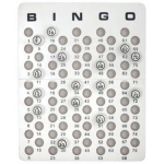 Casino Supply Bingo Masterboard for Ping Pong Size Balls