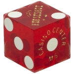 Casino Supply Casino Dice Used: Red, 3/4 Inch