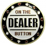 Casino Supply On the Dealer Poker Card Guard Protector