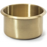 Casino Supply Brass Jumbo Drop in Drink Holder