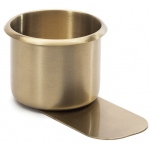 Casino Supply Brass Slide Under Drink Holder