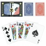 Copag R/B Wide Pinochle Set Regular Index