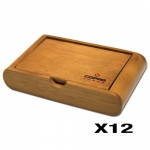 12 Copag Wooden Storage Boxes