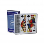 100% PLASTIC Deck of Lombarde Italian Regional Playing Cards