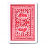 Modiano Old Trophy Poker Playing Cards - Red