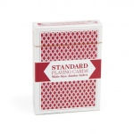Red Deck, Brybelly Playing Cards (Wide Size, Jumbo-Index)