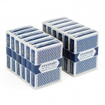12 Blue Decks (Wide Size, Jumbo Index)