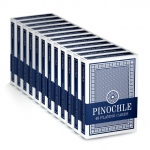 12 Blue Decks of Pinochle Playing Cards