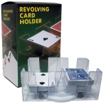 6 Deck Rotating Card Tray