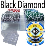 200 Ct - Pre-Packaged - Black Diamond 14 G - Acrylic Tray