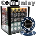 1000 Ct Acrylic Standard Breakout-Coin Inlay 15 Gram Chips