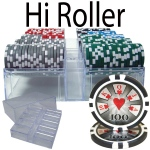 200 Ct - Pre-Packaged - Hi Roller 14 G - Acrylic Tray