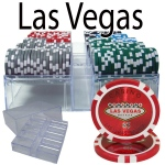 200 Ct - Pre-Packaged - Las Vegas 14 G - Acrylic Tray